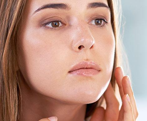 probleme de peau, acné et eau calcaire